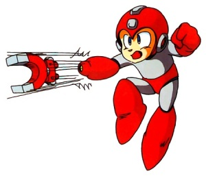 magnet missle megaman power megaman 3 NES capcom artwork